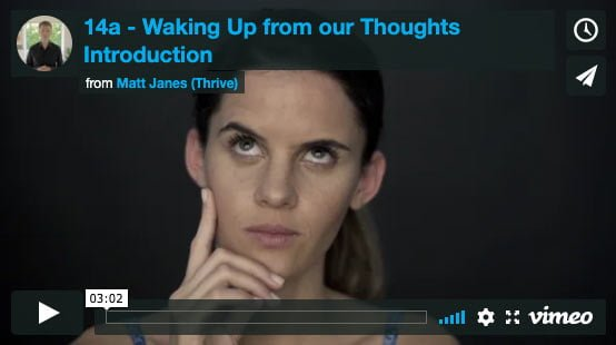 Introduction to Waking Up from our Thoughts