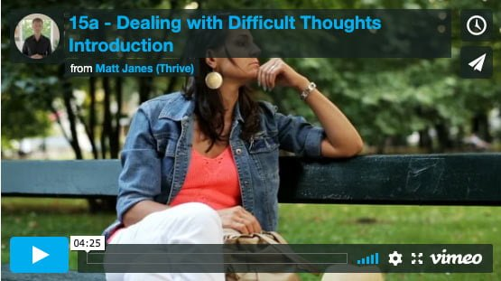 Introduction to Dealing with Difficult Thoughts