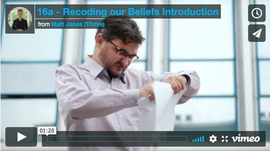 Introduction to Recoding our Beliefs