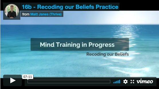 Recoding our Beliefs Practice