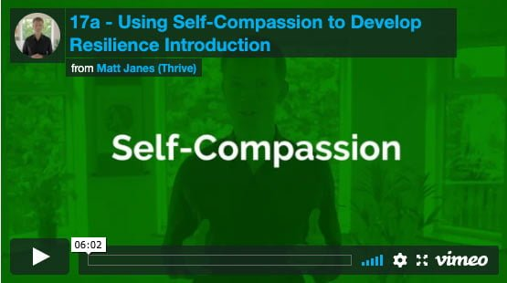 Introduction to Using Self-Compassion to Develop Resilience