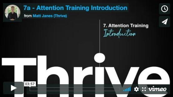 attention training