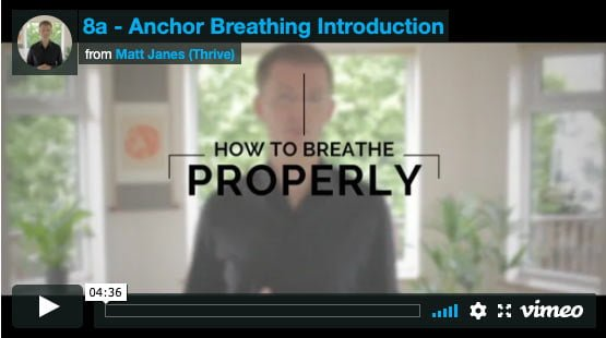 how to breathe properly stress anxiety