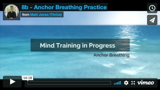 Anchor Breathing Practice