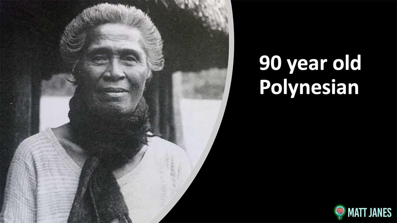 Dr Weston Price 90 year old Polynesian