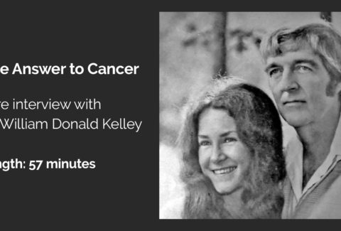 dr william donald kelley one answer to cancer