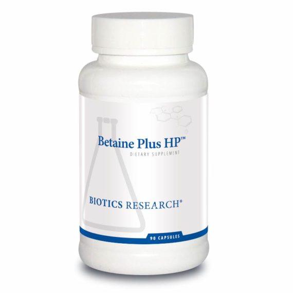 Biotics Research Betaine Plus HP HCL UK
